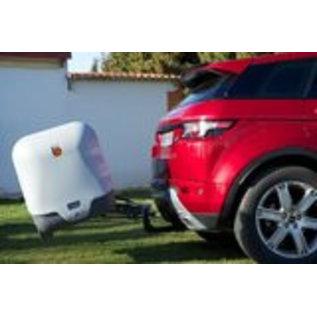Aragon   Gepäckbox für Anhängerkupplung  Towbox V2 Grey Edition