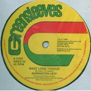 Barrington Levy | Mary Long Tongue / Look Youthman