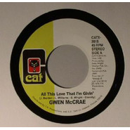 Gwen McCrae | All This Love That I'm Givin' / Maybe I'll Find Somebody New