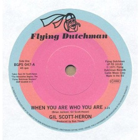 Gil Scott-Heron | When You Are Who You Are / Free Will (Alt Take 1)
