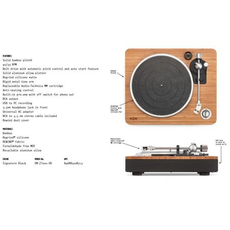 House of Marley House of Marley Turntable