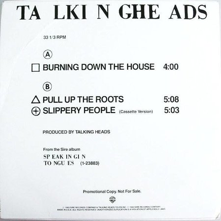 Talking Heads | Burning Down The House