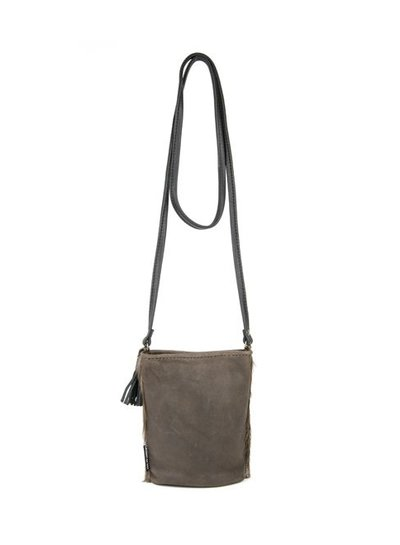 Caught by Eef Brown Springbok leather Shoulder bag | Claudia's Petite Necessity