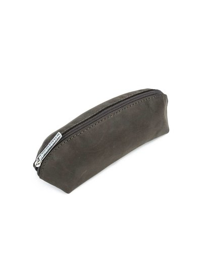 Caught by Eef Brown Leather Case | Claudia's Make-up & Pencil Bag
