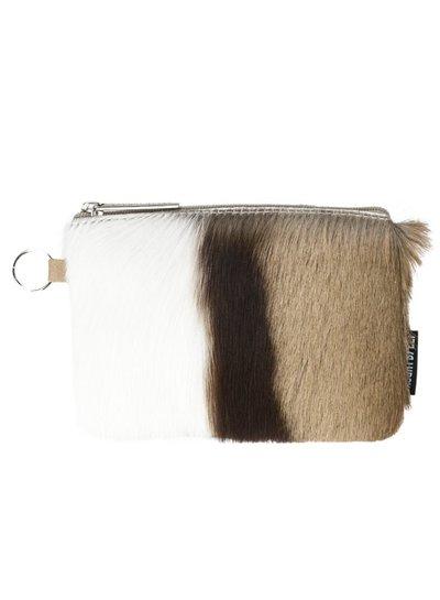Caught by Eef Springbok Leren Portemonnee | Audrey's Bag in Bag