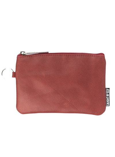 Caught by Eef Red Leather Purse | Sally's Bag in Bag