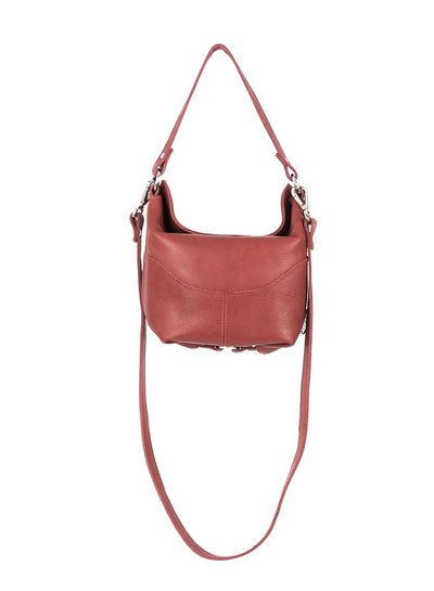 Caught by Eef Red Leather Handbag | Sally's Agiato