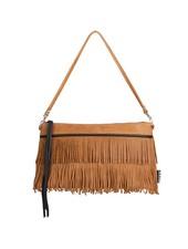 Caught by Eef Camel Leather Handbag | Lena's Marram