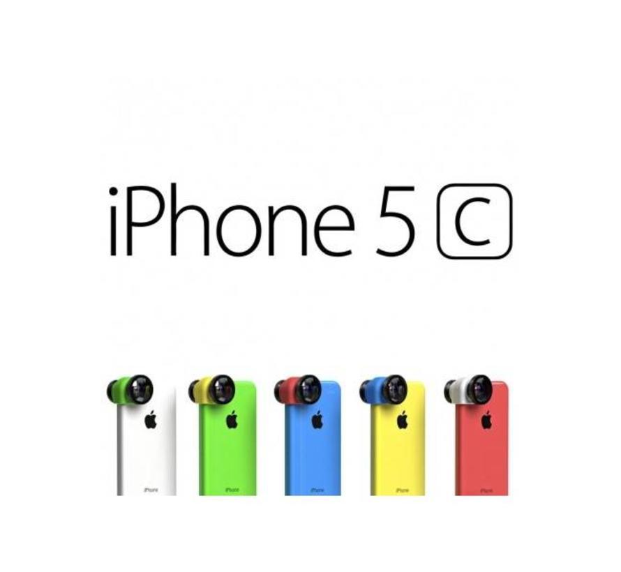olloclip 3 in 1 voor iPhone 5c