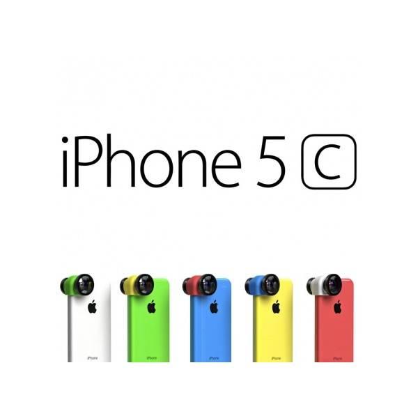 olloclip 3 in 1 voor iPhone 5c Blauw