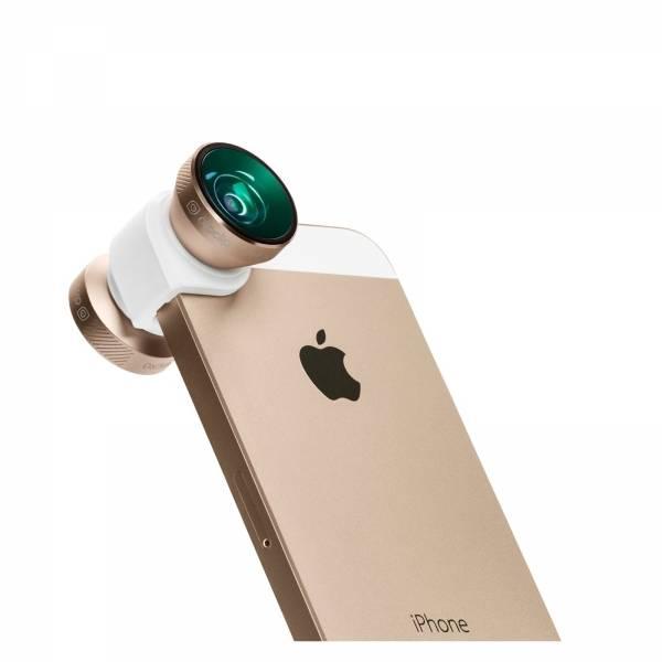 olloclip olloclip 4 in 1 voor iPhone 5/5s (White/Gold)