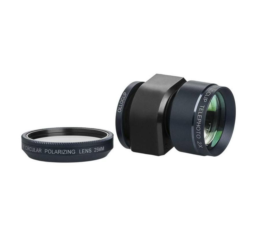 olloclip Telephoto Lens + Circular Polarizer olloclip voor iPhone 4 en 4s