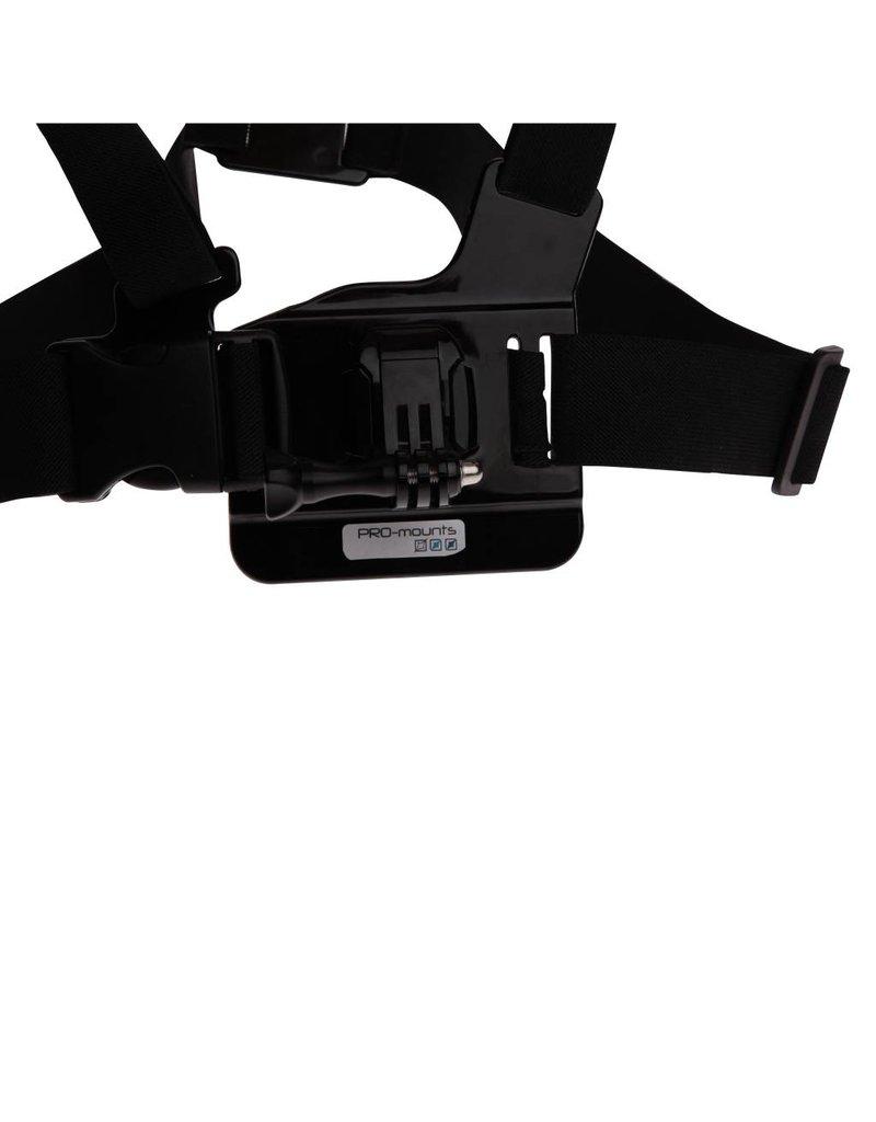 Pro-mounts Pro-Mounts ChestMount voor GoPro & 360fly