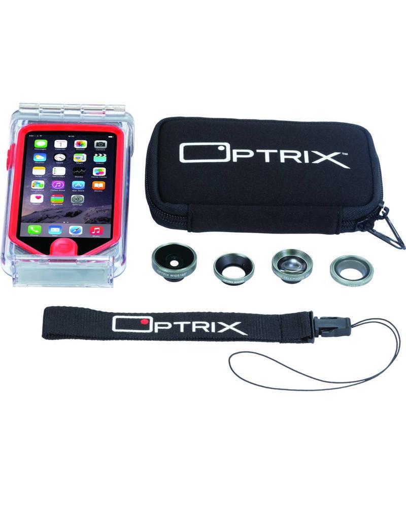 Optrix Optrix PRO voor iPhone 5/5s/SE, inclusief 4 lenzen