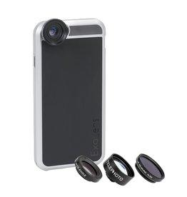 Exolens ExoCase iPhone 6/6s - 4 lenzen