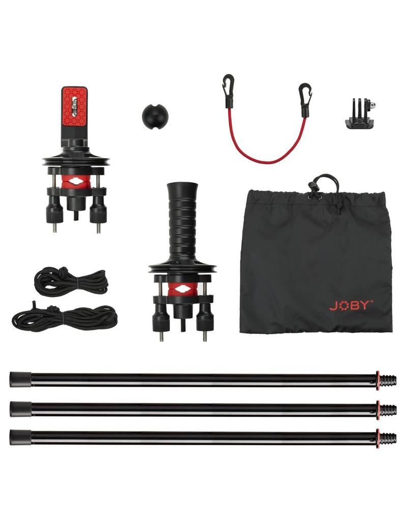 Joby Action Jib Kit & Pole Pack Black-Red