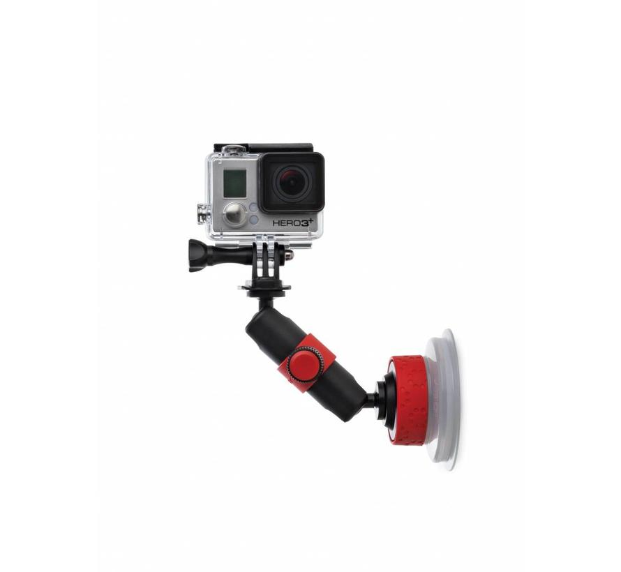 Joby Suction Cup & Locking Arm Black/Red