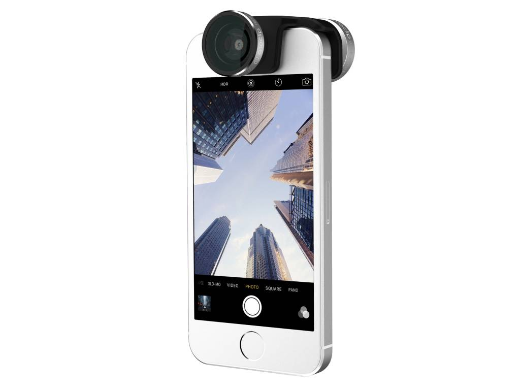 olloclip 4 in 1 lens voor iPhone SE (nieuw design)