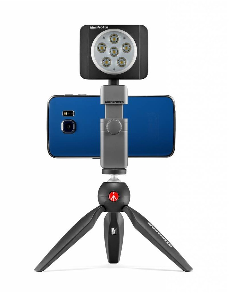 Manfrotto TwistGrip universal smartphone clamp