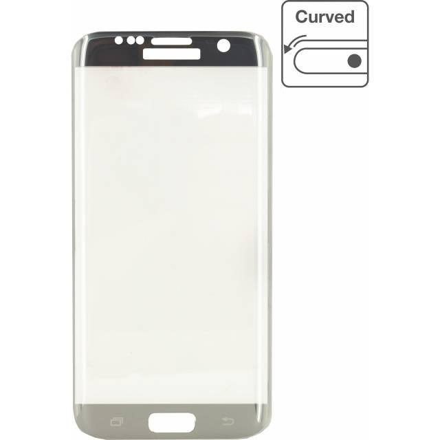 Edge-To-Edge Glass Screen Protector Samsung Galaxy S7 Edge Zilver