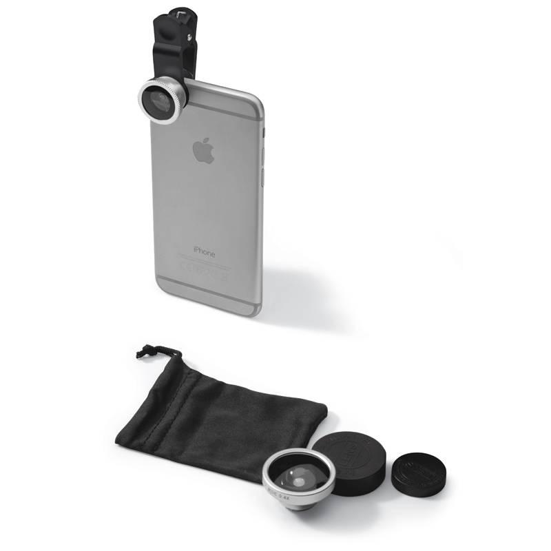 Pixigo Basic Lensclip 3 in 1 smartphonelens (bedrukt)