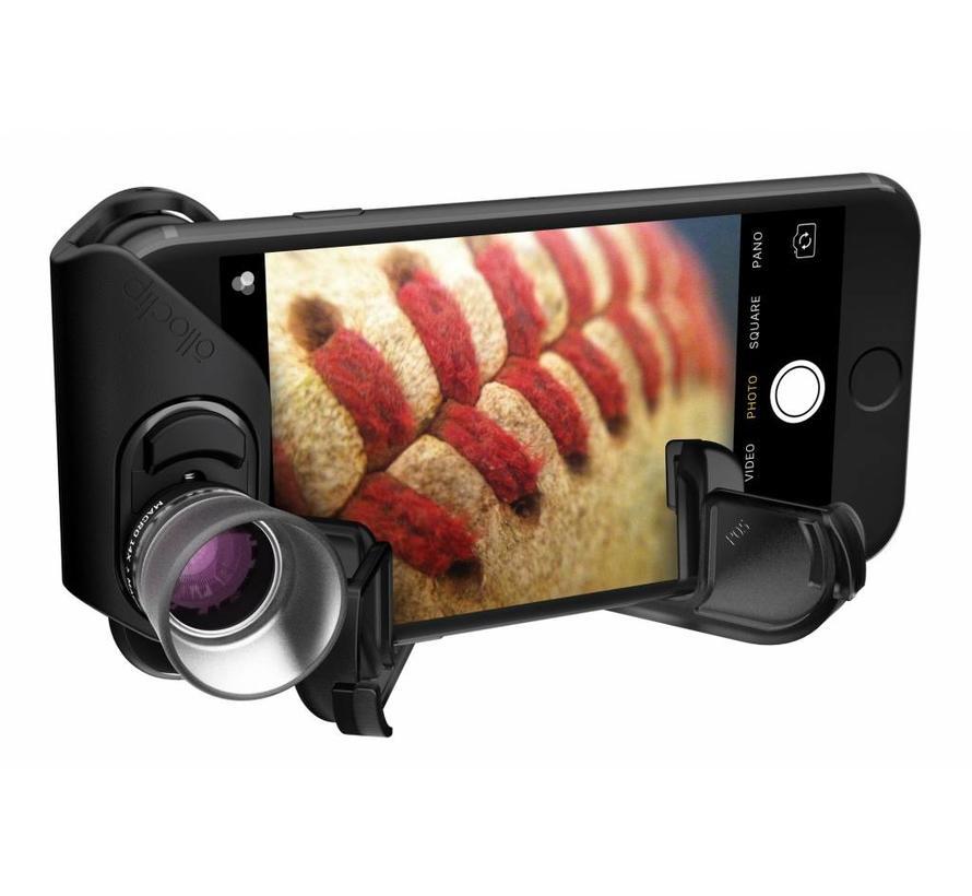 olloclip voor iPhone 7/8 en 7/8 plus Macro pro lens set