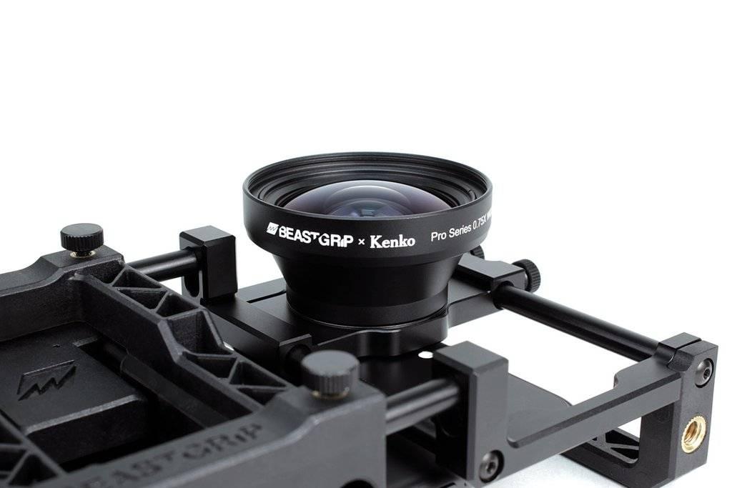 Beastgrip Beastgrip Pro Series 0,75x groothoeklens