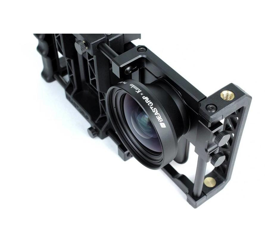 Beastgrip x Kenko Pro Series 0.75X Wide Angle Lens