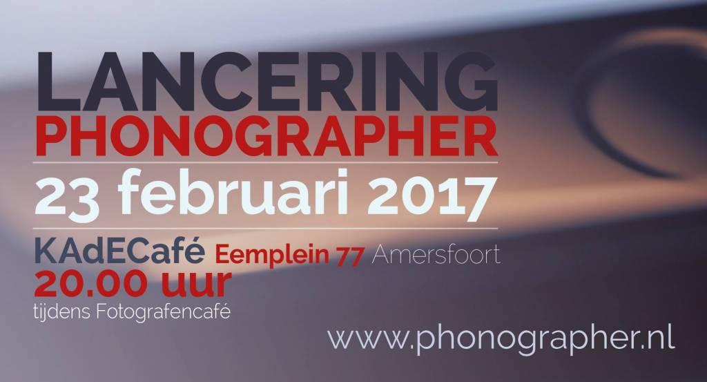 Lancering Phonographer magazine