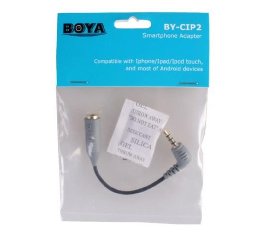 Boya Smartphone Adapter BY-CIP voor iOS en Android
