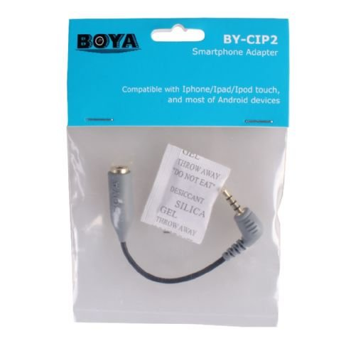 Boya Smartphone Adapter BY-CIP (TRS > TRRS)