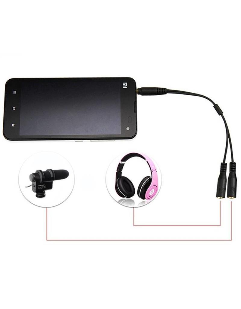 Hähnel Hähnel TRRS Microfoon adapter voor smartphone