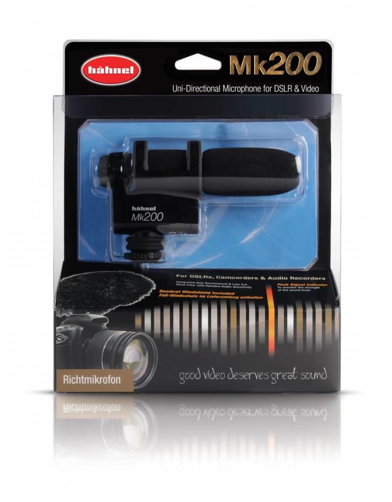 Hähnel Hähnel Mk200 Richtmicrofoon