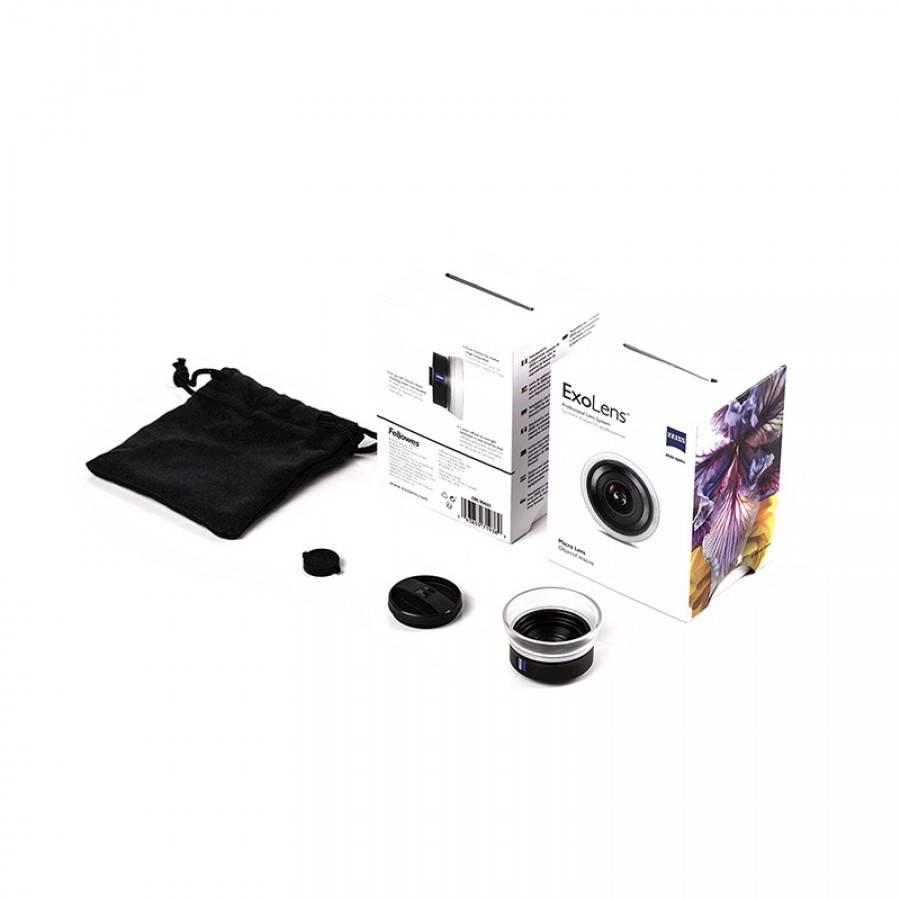 Exolens Pro met Zeiss macro lens