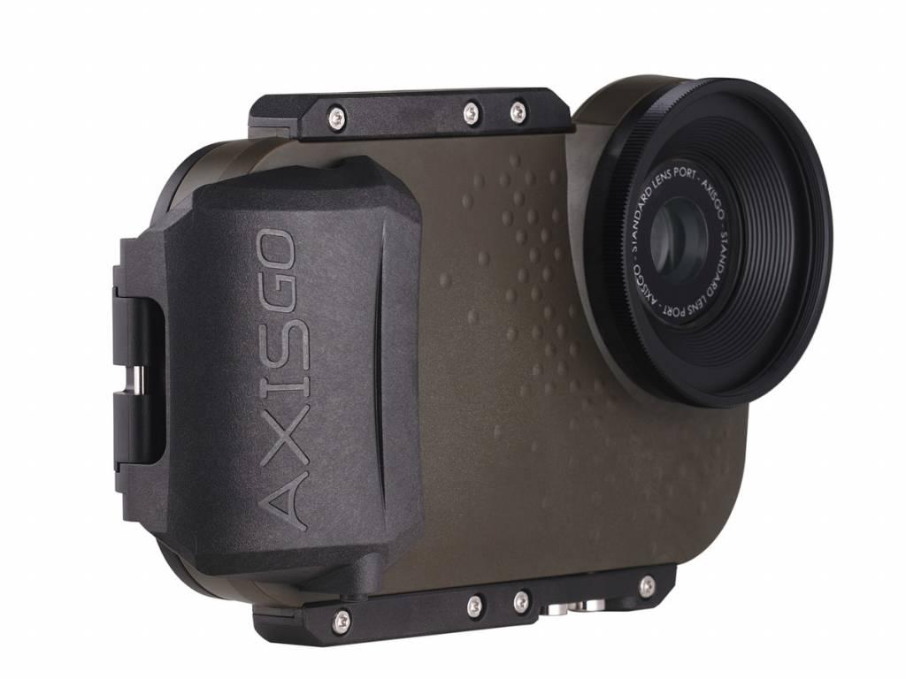 AxisGO onderwaterhuis iPhone7 Groen (tactical green)