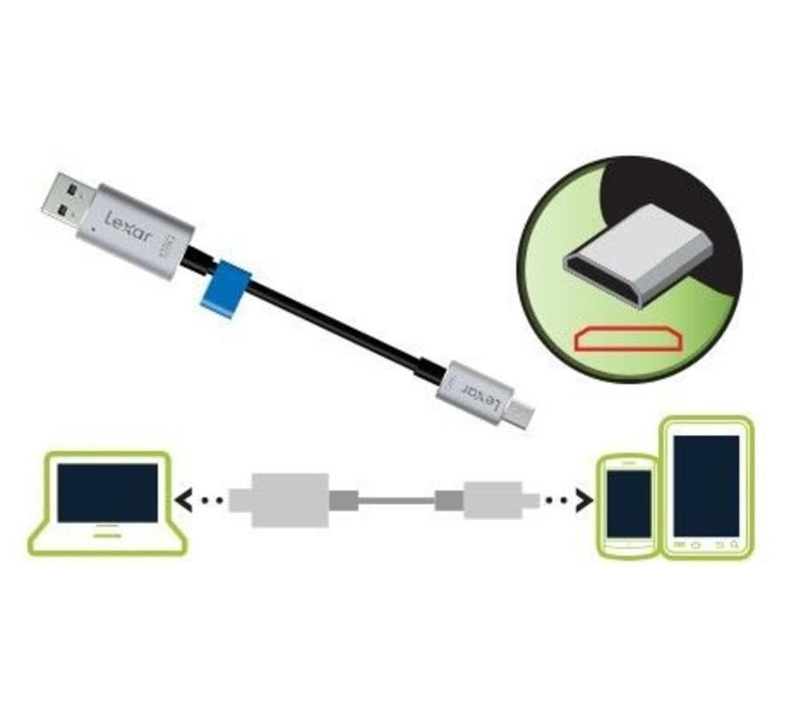 Lexar® JumpDrive® C20m micro-USB flash drive