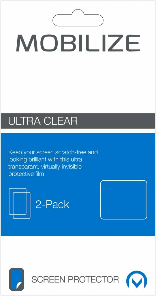 Mobilize Mobilize Clear 2-pack Screen Protector Apple iPhone 7