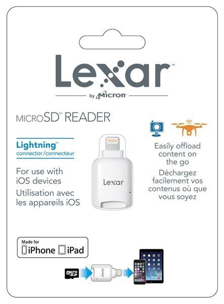 Lexar Micro-SD cardreader (Lightning)