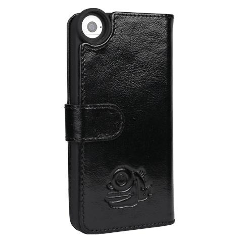 Black Eye lens Black eye lens Flip cover + screenprotector iPhone 5/5s/SE bundel