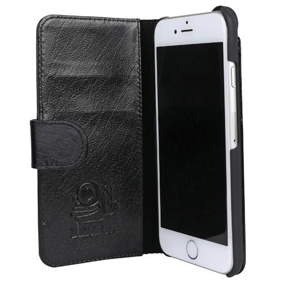 Black Eye lens Flip cover + screenprotector iPhone 6 / 6s bundel
