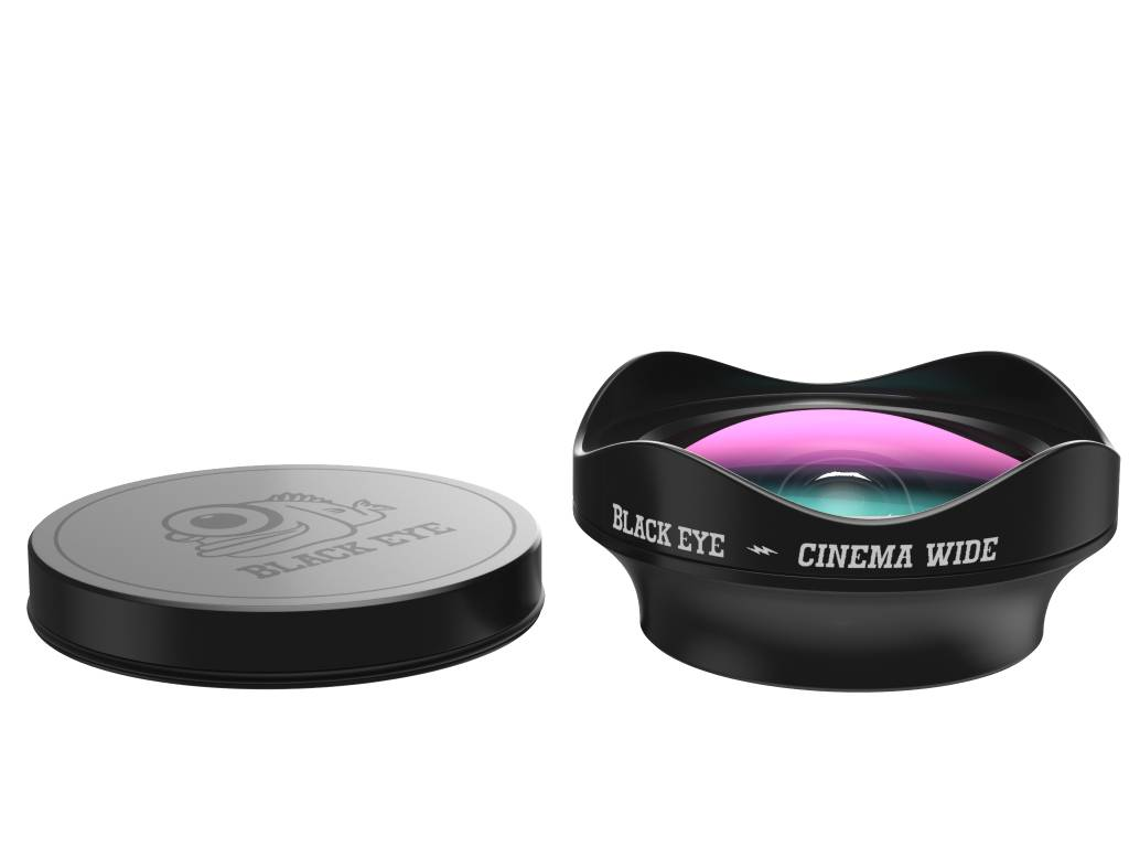 Black Eye lens Blackeye Clipper Cinema Wideangle
