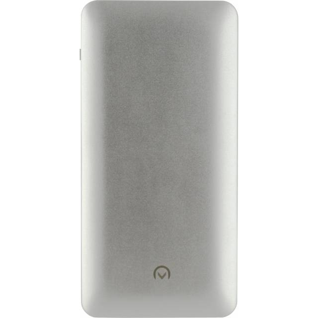 Mobilize Mobilize Aluminium Slim Power Bank 10000 mAh Silver