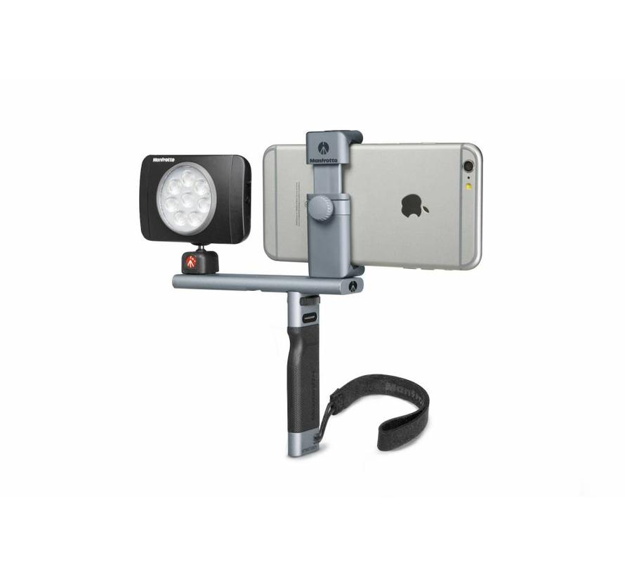 Manfrotto handle and bar for Smartphone