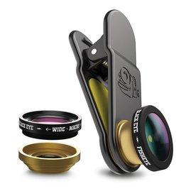 BlackEye lens Clipper Basic 3 in 1