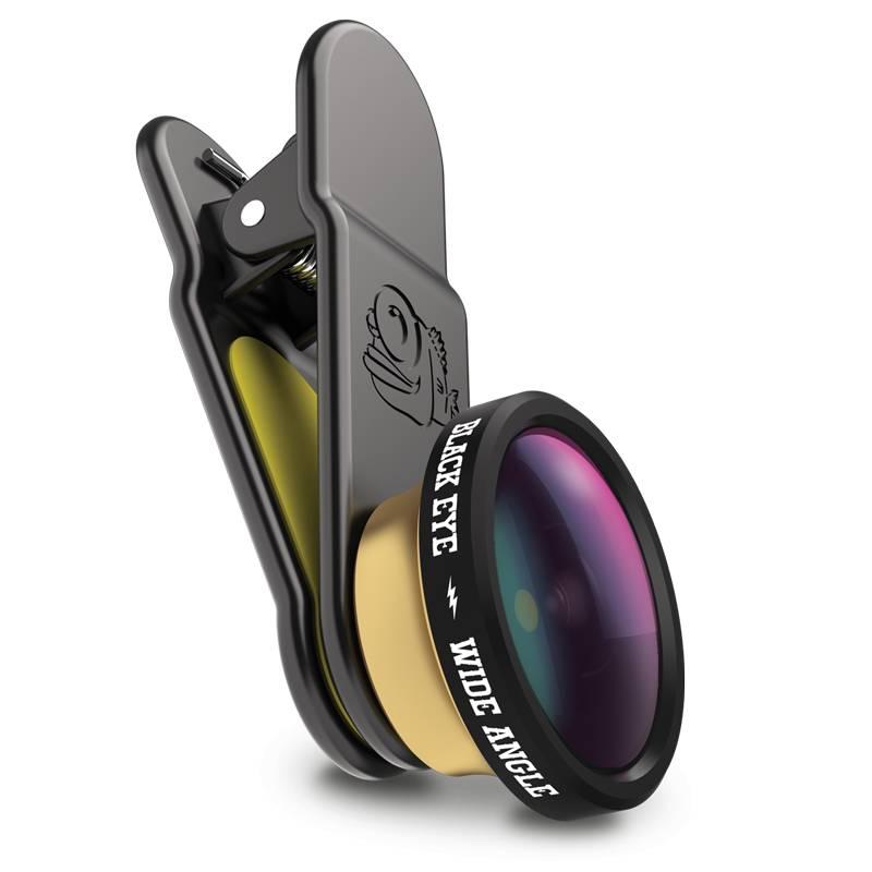 Black Eye lens Blackeye Clipper HD Groothoeklens