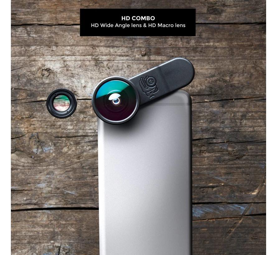 Blackeye Clipper Combo (Macro & groothoek lens)