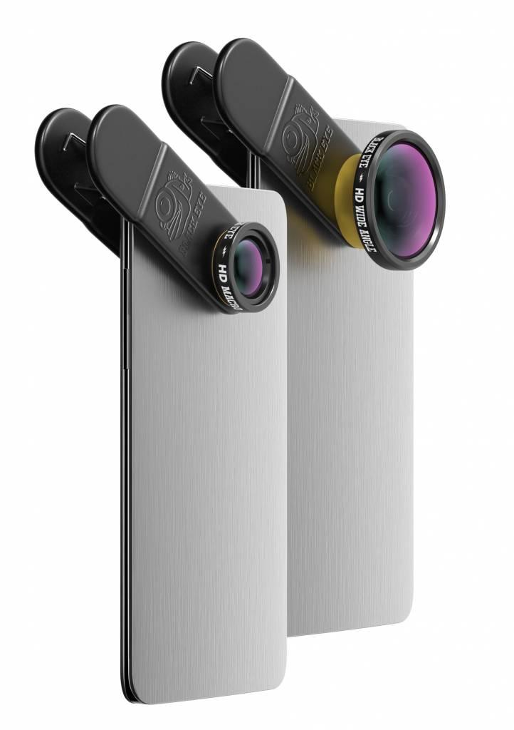 Black Eye lens Black eye HD Combo + Filming handle statief bundel