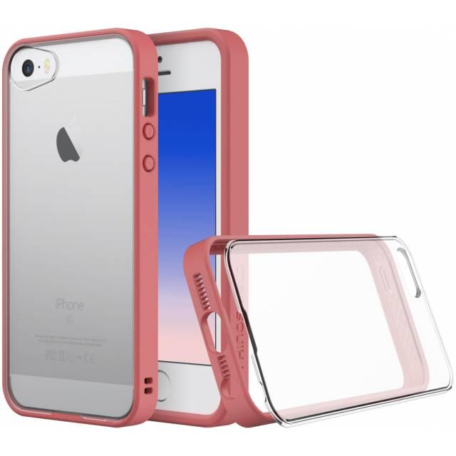 Rhinoshield Crash Guard MOD Case Apple iPhone 5/5S/SE - Coral Pink (binnenkort)