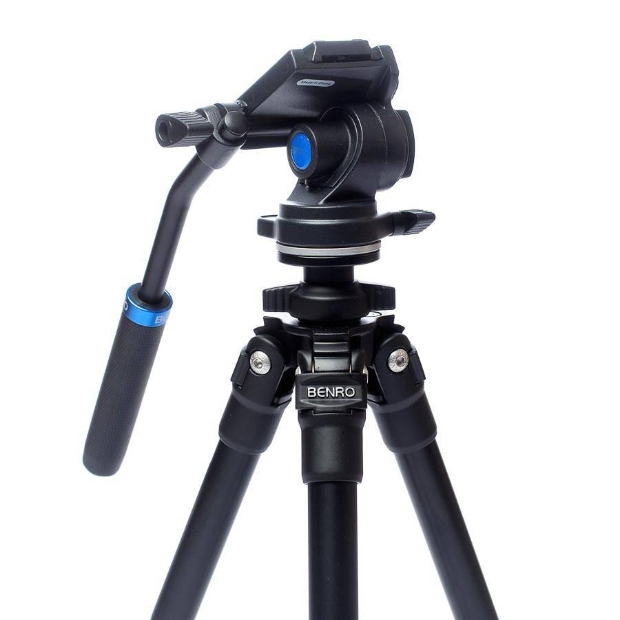 Benro Benro TSL08AS2CSH video tripod - Aluminium