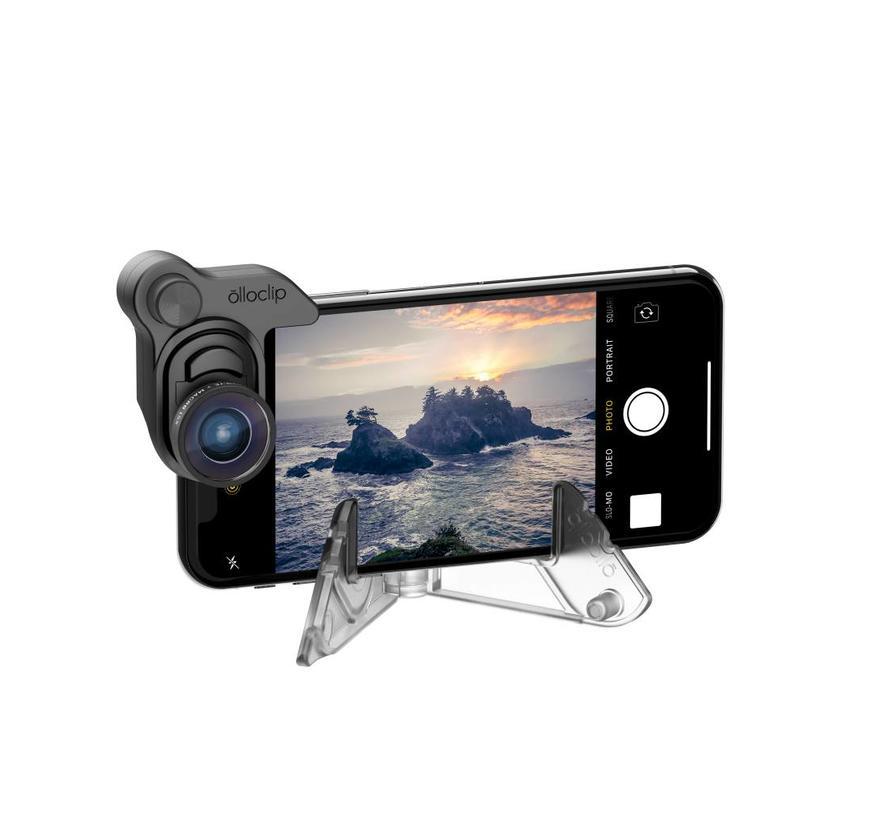 olloclip mobile photography set voor iPhone X (fisheye, groothoek, macro)
